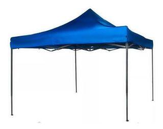 Gazebo Articulável 3mx3m Azul