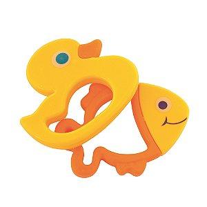 Chocalho Peixe e Pato Coloria