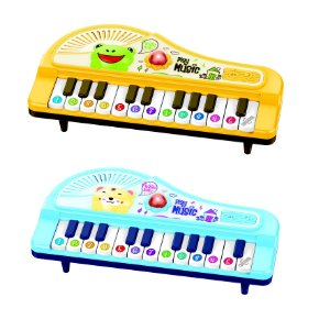 Mini Piano Bichos Coloria