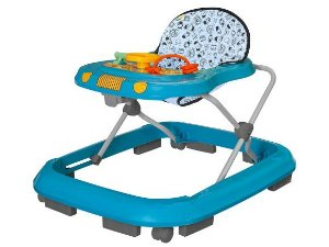 Andador Tutti Baby Safari Azul