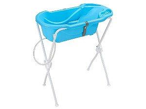 Banheira Tutti Baby Ergonômica Azul