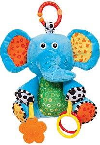 Pelúcia Elefantinho de Atividades Buba
