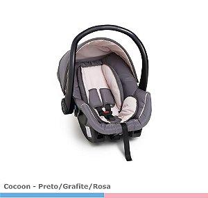 Bebê Conforto Galzerano Cocoon Cinza/Rosa 8181