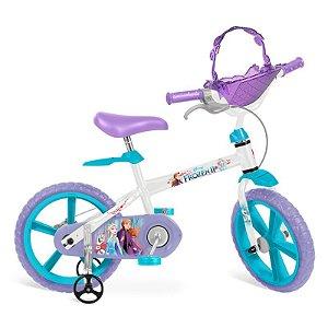 Bicicleta Bandeirante Frozen II Aro 14