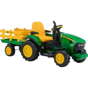 Trator Elétrico Peg Perego Jhon Deere Ground Force