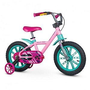 Bicicleta Nathor Aro 14 First Pro Alumínio Rosa