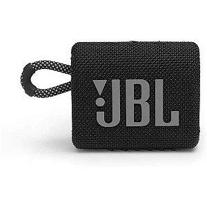 Caixa de Som Bluetooh JBL GO 3 Preto