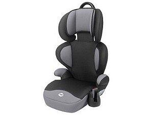 Cadeira Tutti Baby Triton Preta/Cinza 15-36KG 6300
