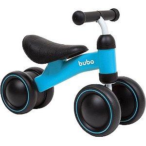 Bicicleta de Equilíbrio BUBA 4 Rodas Azul