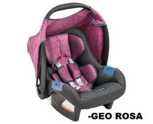 Bebê Conforto Burigotto Touring Evolution Geo Rosa