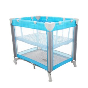 Berço Safety 1st Mini Play Azul