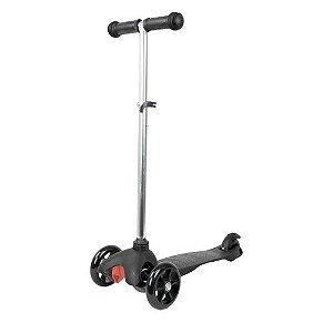 Patinete Urbano Scooter Preto 3 Rodas