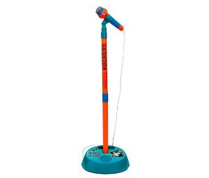 Microfone Fun Power Rockers Com Pedestal