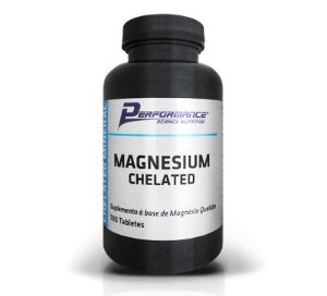 MAGNESIUM CHELATED - PERFORMANCE NUTRITION - 100tb