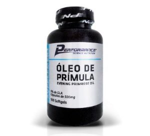 ÓLEO DE PRÍMULA - PERFORMANCE NUTRITION -  100 softgels