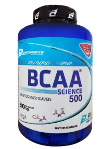BCAA AMINOACIDO MASTIGÁVEL - PERFORMANCE NUTRITION