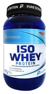 PROTEINA ISOLADA ISO WHEY PROTEIN - PERFORMANCE NUTRITION