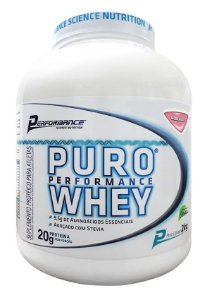 PURO WHEY STEVIA PERFORMANCE NUTRITION