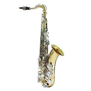 Saxofone Tenor Hoyden HTS25 LN Laqueado Chave Niquelada - hts 25