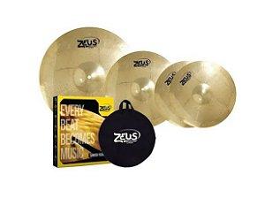 Kit de Pratos Zeus Beginner Set C 14/16/20
