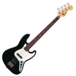 Contrabaixo Squier Fender Affinity Jazz Bass 506 Preto
