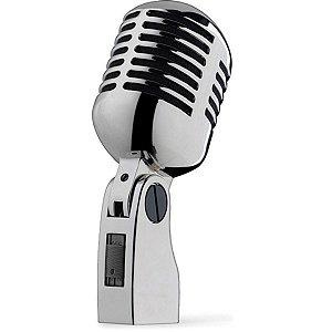 Microfone Stagg MD-007CRH Vintage Cromado