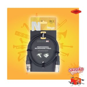 Cabo Stagg NGC6R P10 x P10 6 mts Emb Preto