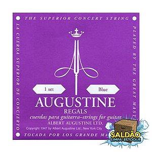Encordoamento Augustine Violão Regals Nylon Rosa
