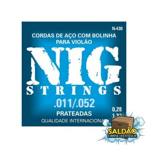Encordoamento Nig Violão 0.11 N430