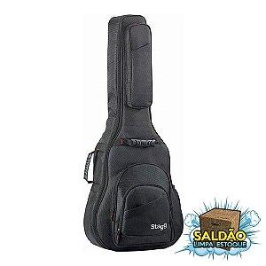 Semicase Stagg STB-NDURA 25 W p/ Violao Folk