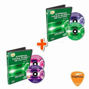 Video Aula EDON - Aprenda Musica de Ouvir VOL 1+ VOL2