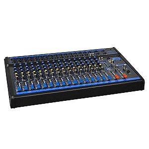 Mesa de som Oneal OMX-16 USB 16 Canais e  Efeito