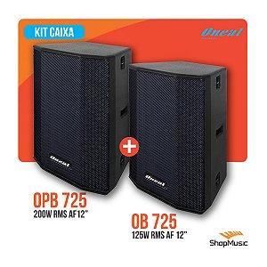Kit Caixa Oneal Opb 735 Ativo + Ob 735 Passivo