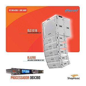 Kit Oneal Sub/line/bumper Br + Processador Dbx Venu360