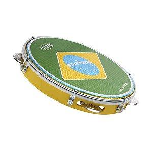 Pandeiro Izzo ABS Pele Brasil 10