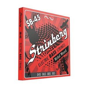 Encordoamento Strinberg Baixo SB-45 4 cordas 045-105