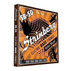 Encordoamento Strinberg Baixo SB-50 5 cordas 040-125