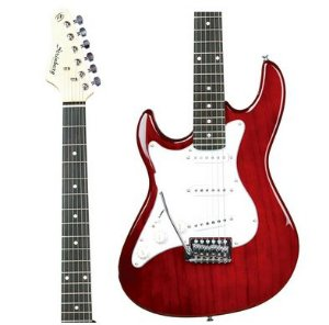 Guitarra Strinberg EGS216 LH Stratocaster Vinho Canhoto