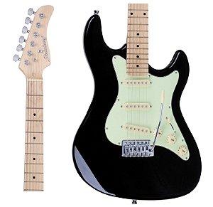 Guitarra Strinberg STS100 BK Strato Preto