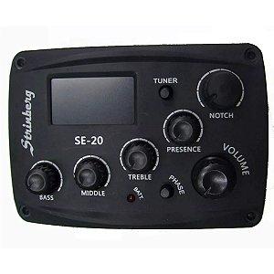 Pré Amplificador Strinberg SE-20 / Completo