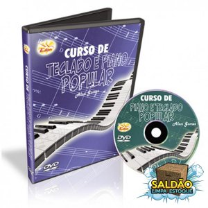 Video Aula Edon Curso de Teclado e Piano Pop Vol 3