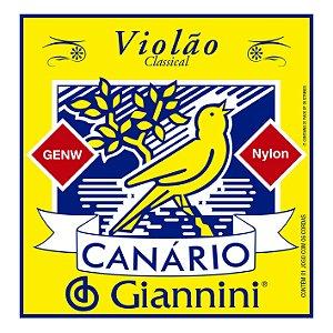 Encordoamento Giannini Canario GENW para Violão Nylon