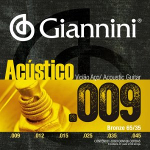 Encord Giannini Acustico Violao 009 GESWAL Aco