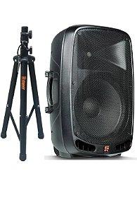 Caixa Ativa Staner Ps1501 200w Rms Bluetooth Usb + Tripé