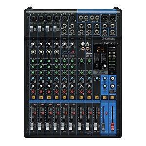 Mesa de Som Yamaha MG12 XU c/ Efeito/USB