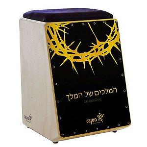 Cajon Gospel CG 312 Rei dos Reis Eletrico Almof
