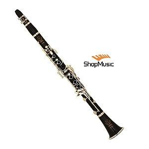 Clarineta Eagle CL04N 17 Chaves Niqueladas