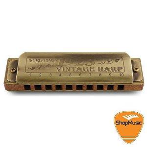 Gaita Hering Vintage Harp 1020  E Mi Corpo Madeira