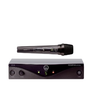 Microfone s/ Fio AKG PW Vocal Set B1 45 Bastao
