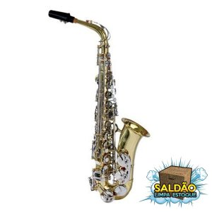 Saxofone Alto Hoyden HAS 25 LN Laqueado Chave Niquelada - HAS25